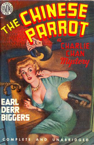 The Chinese Parrot Pulp Novel
