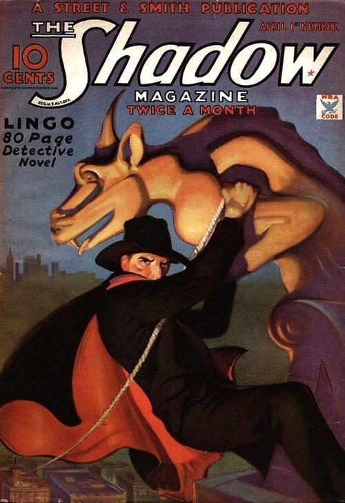 The SHadow Magazine Pulp Novel