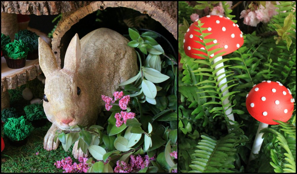 Woodland Birthday Party Theme Collage 2