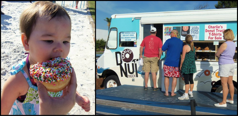 Charlie's Donut Truck Collage 1