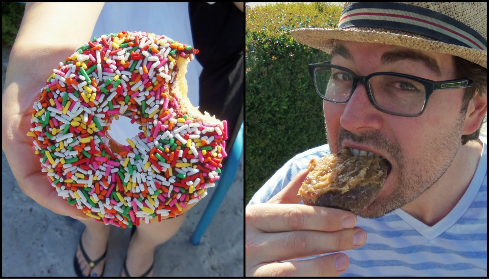 Charlie's Donut Truck Collage 2
