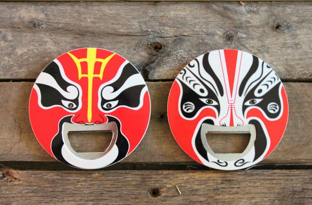 Kabuki Bottle Openers