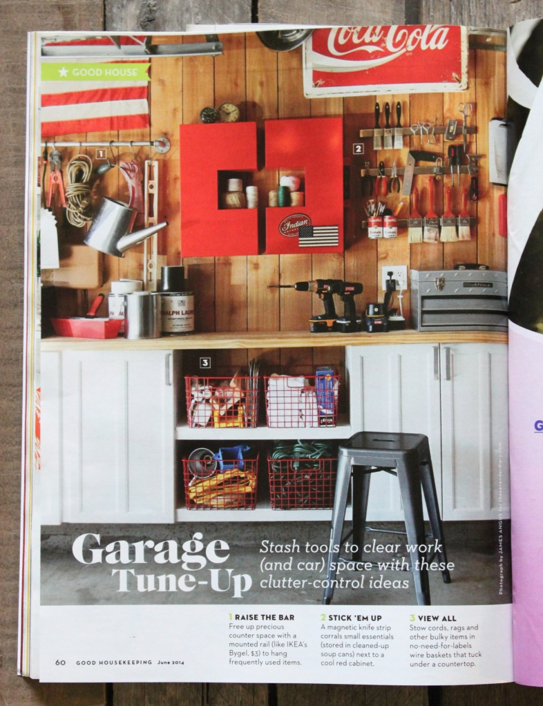 The Cavender Diary Garage in Good Housekeeping Magazine
