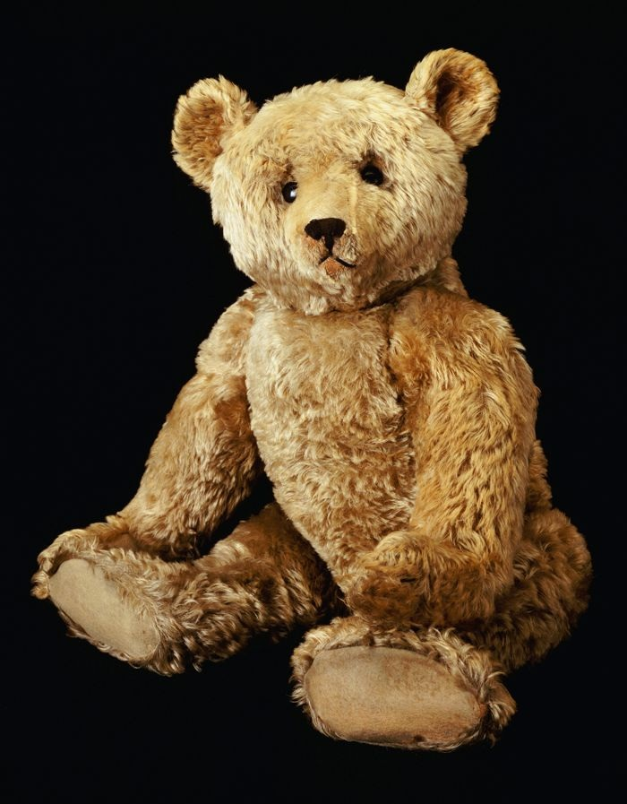 S Teddy With Glass Eyes