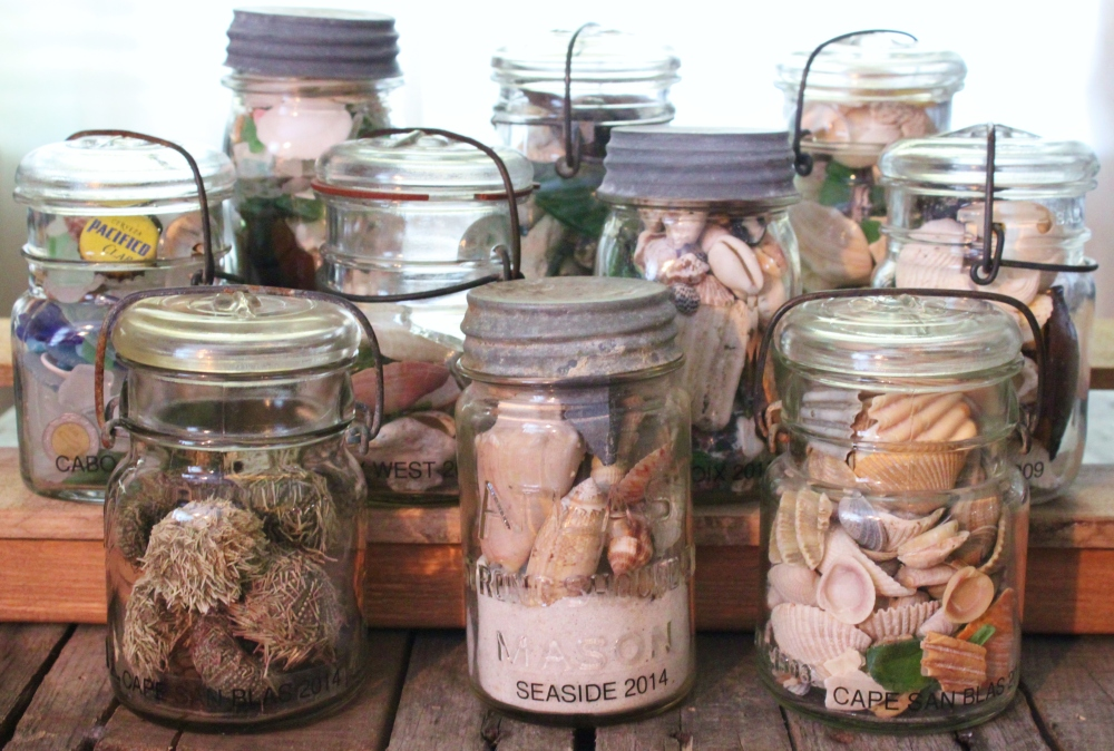 Our Collection of Seaside Memory Jars
