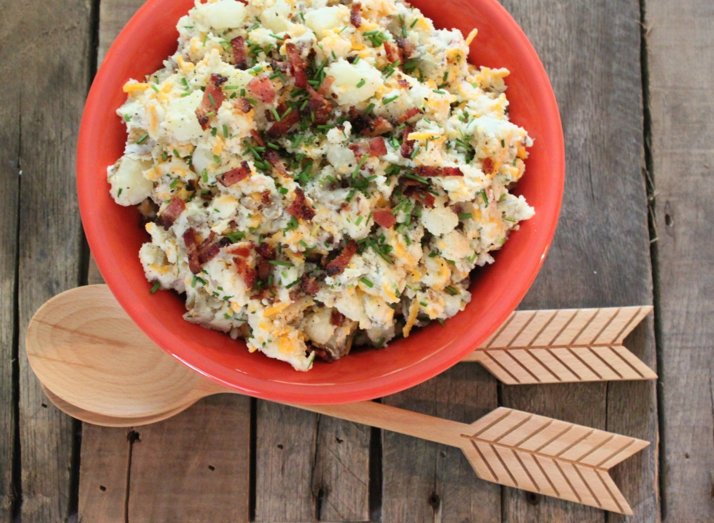 Loaded Baked Potato Salad from your Cavender Boys