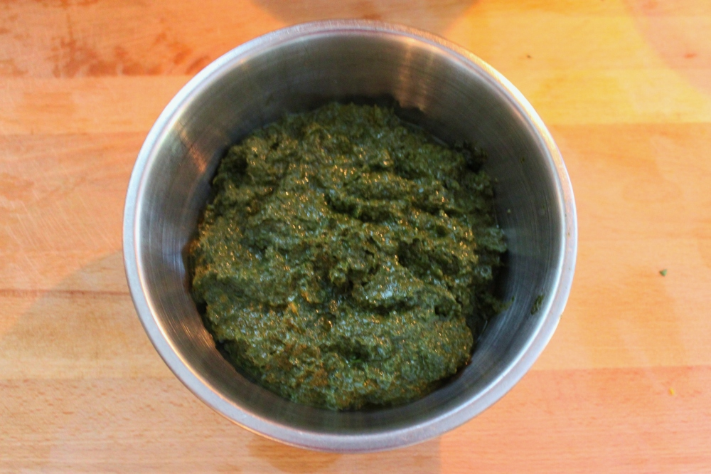 The Processed Basil and Olive Oil