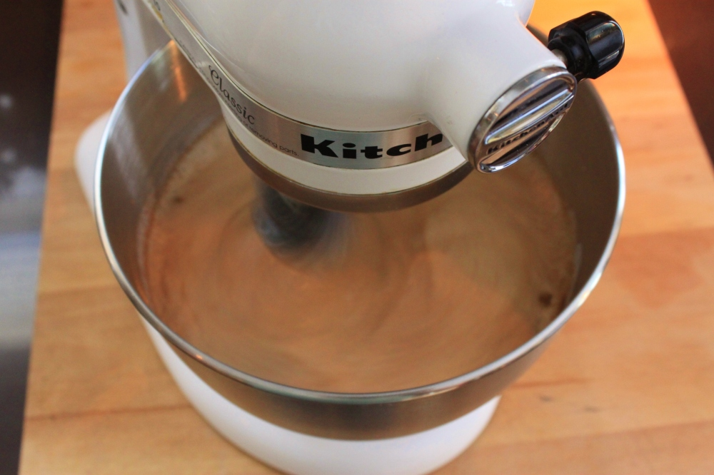 Add Pumpkin, Spices, Heavy Cream, Vanilla and Spices