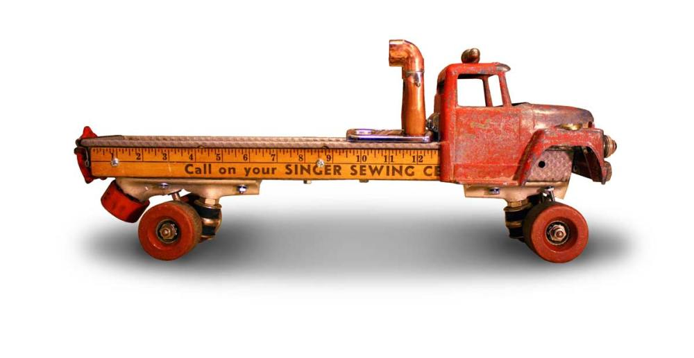 Bread Baker Heavy Hauler Rollerskate Truck by the Design Sponge