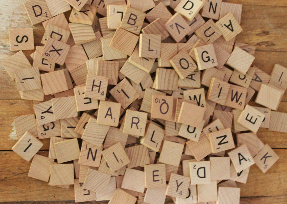 Loose Scrabble Tiles for Crafts from Amazon