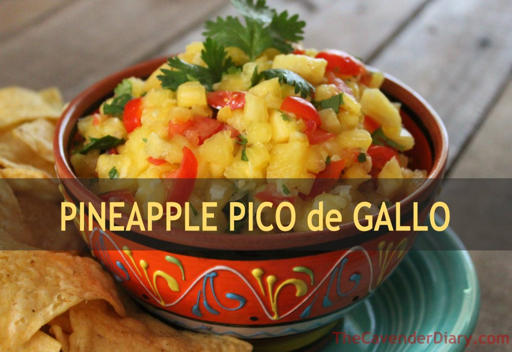 Pineapple Pico de Gallo from the Cavender Diary.com