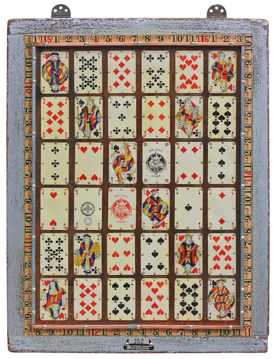 Playing Cards Vegas Wall Art by the Design Sponge  sc 1 st  The Cavender Diary & License Plate Art | THE CAVENDER DIARY
