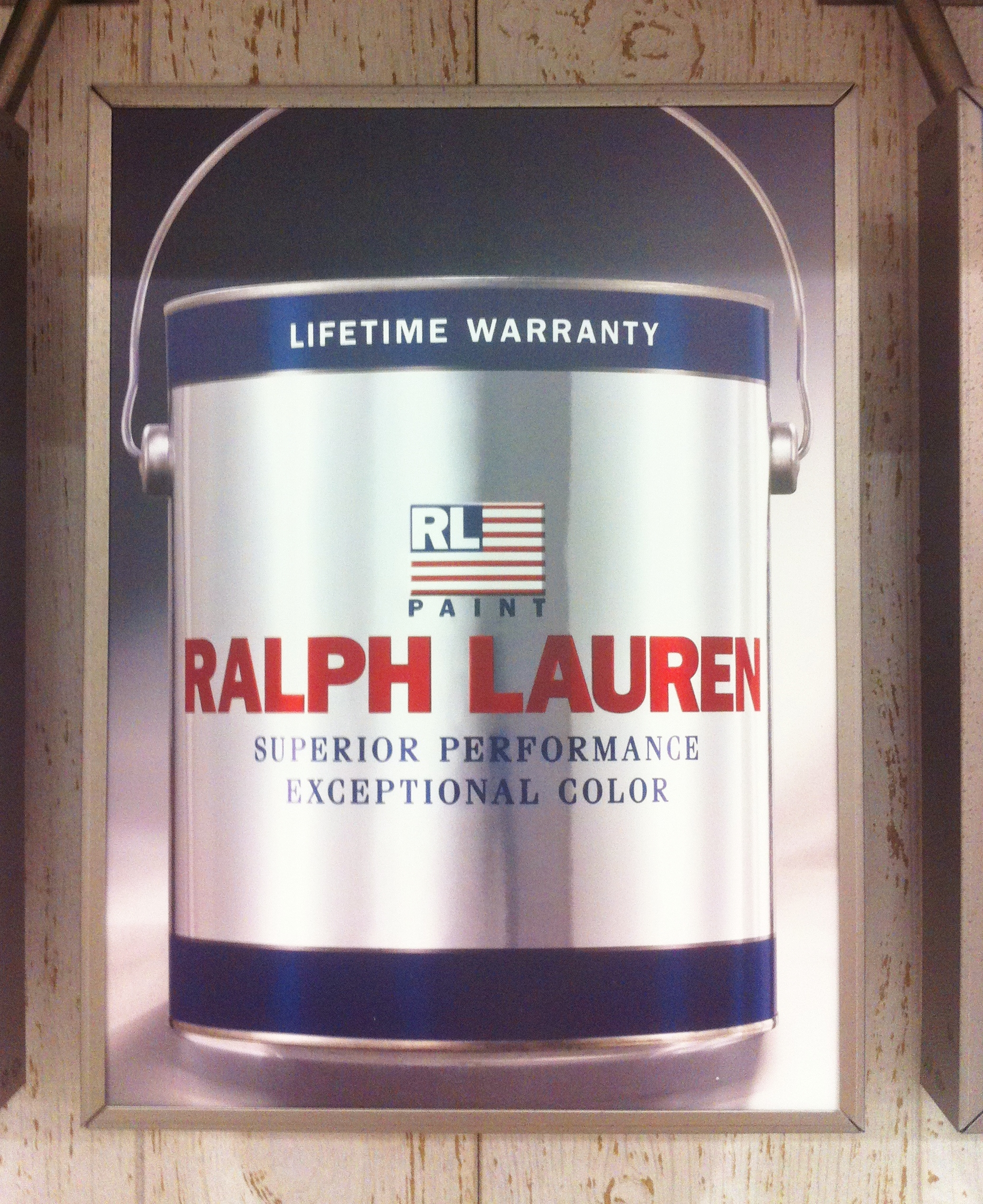 Home depot paint the cavender diary for Where to find ralph lauren paint