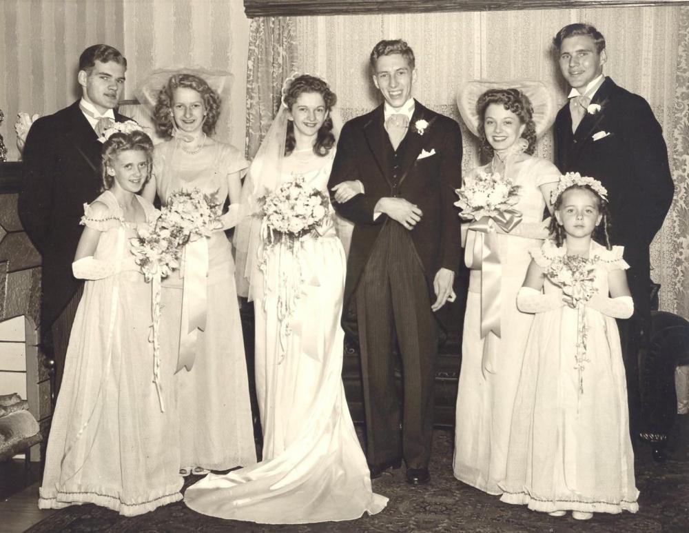 Robert Otto on his Wedding Day