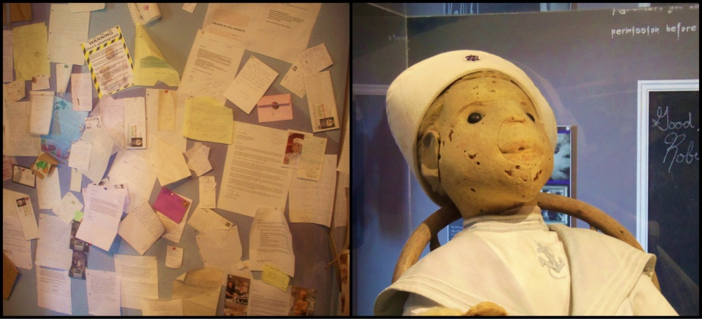 Robert the Doll Collage