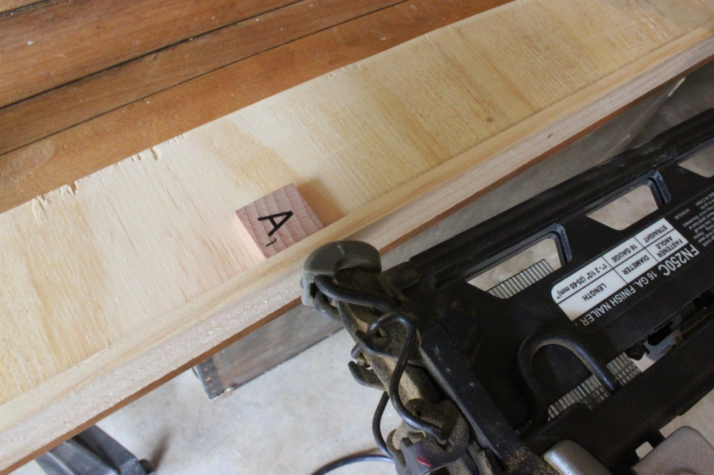 Use a Brad Gun to Attach the Trim to the Sides