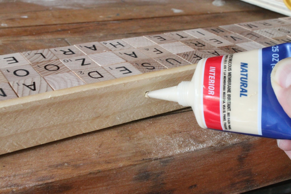 Use Natural Wood Filler to Fill Any Holes