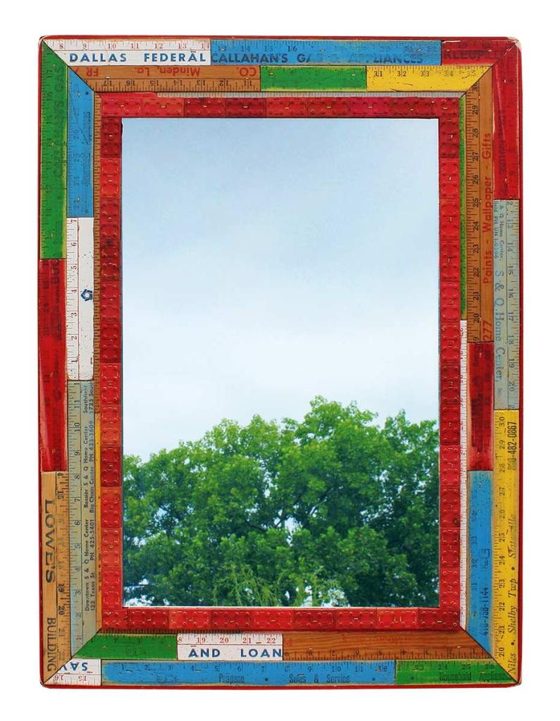 Yard Stick Stacking Blocks Mirror by the Design Sponge