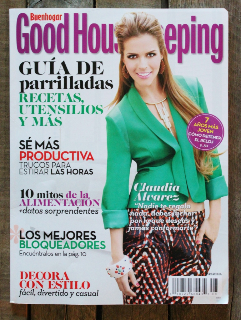 August 2014 Issue of Latin Good Housekeeping