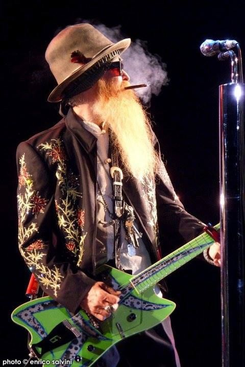 Billy Gibbons in a Custom Nudie Cohn Jacket
