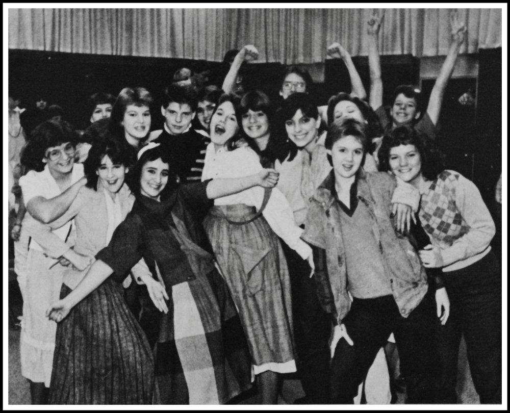 Choir Department in 1985