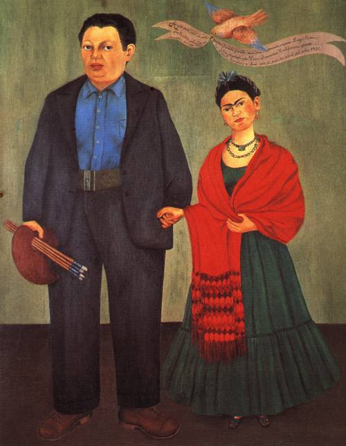 Freida and Diego Wedding Portrait 1931