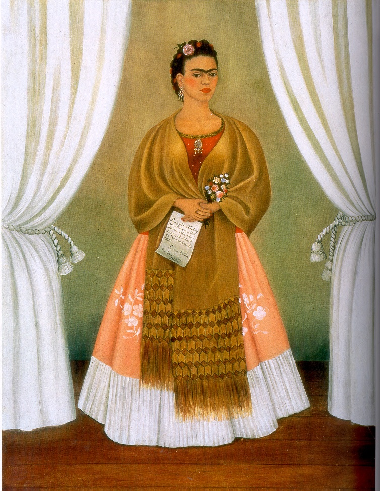 "Frida Kahlo ""Self-Portrait Dedicated to Leon Trotsky, 1937"