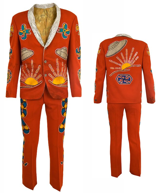 Keith Richards Custom Nudie Suit
