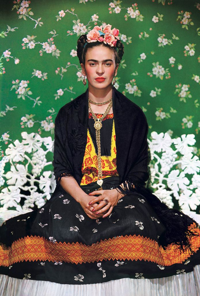 Nickolas Muray's Portrait of Frida Kahlo