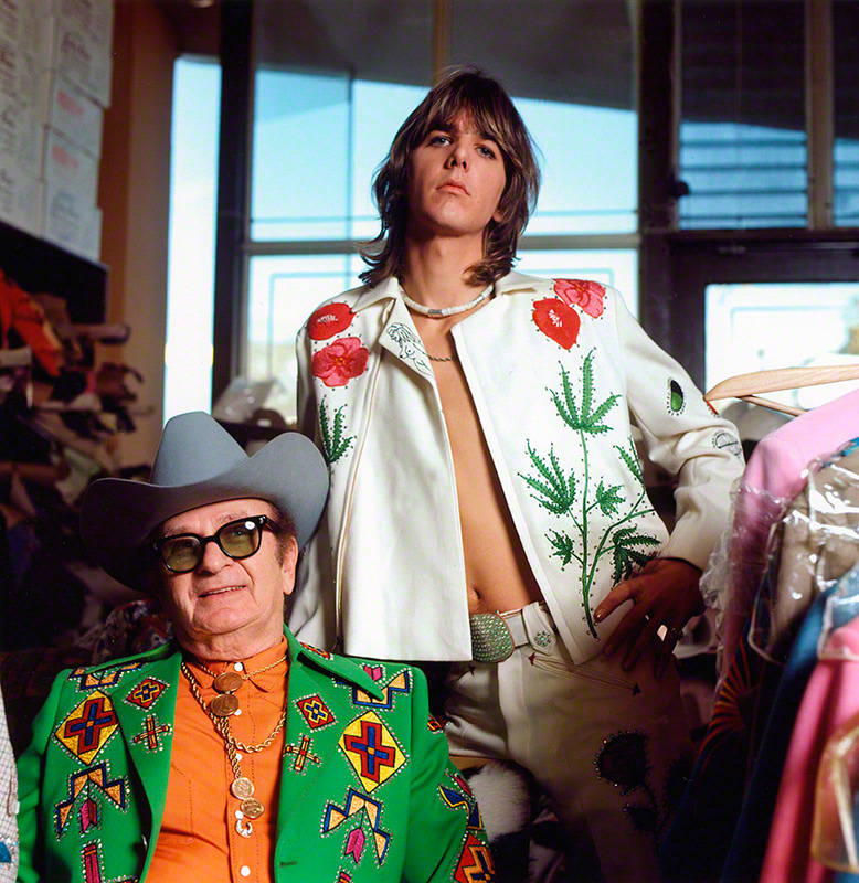 Gram Parsons and Nudie