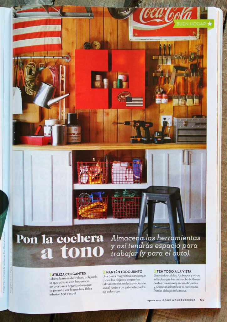 The Cavender Diary Garage in Latin Good Housekeeping