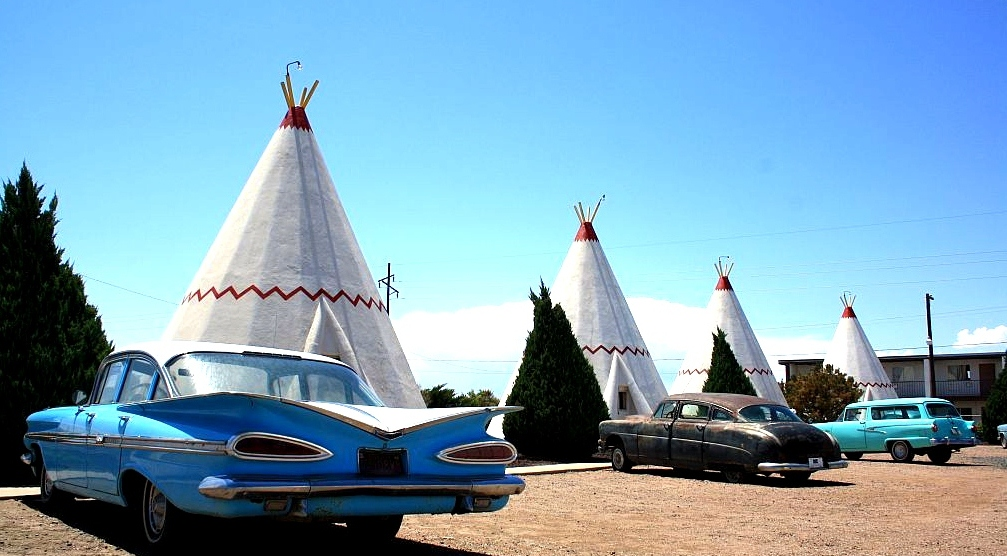 Teepee Motel The Cavender Diary