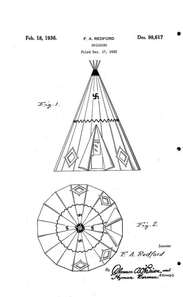 Wigwam Motel Patent
