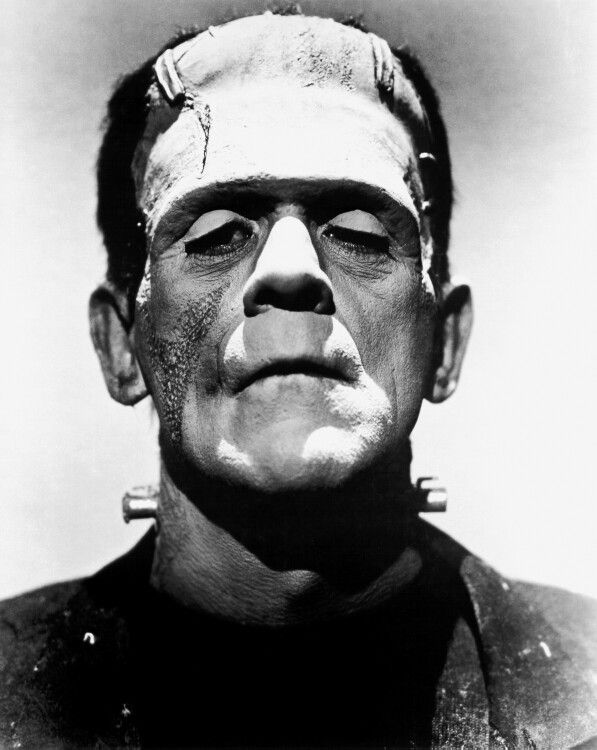 Boris Karlof as the Frankenstein Monster