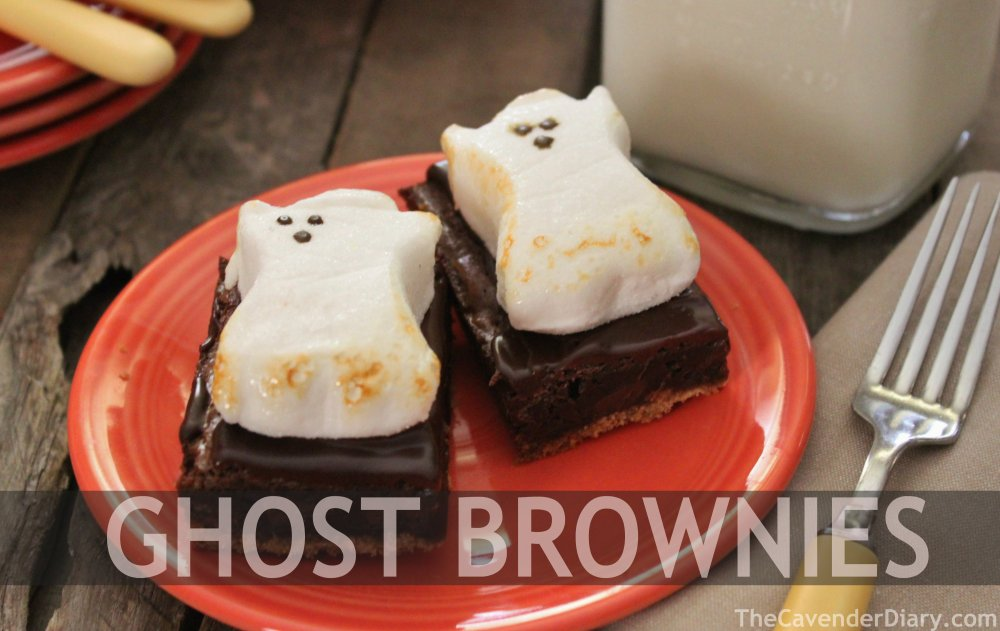 Ghost Brownies from the Cavender Diary
