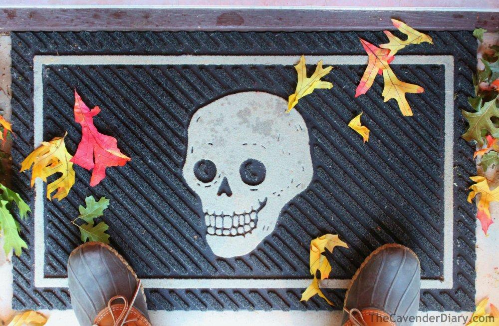 Skull Doormat from Target