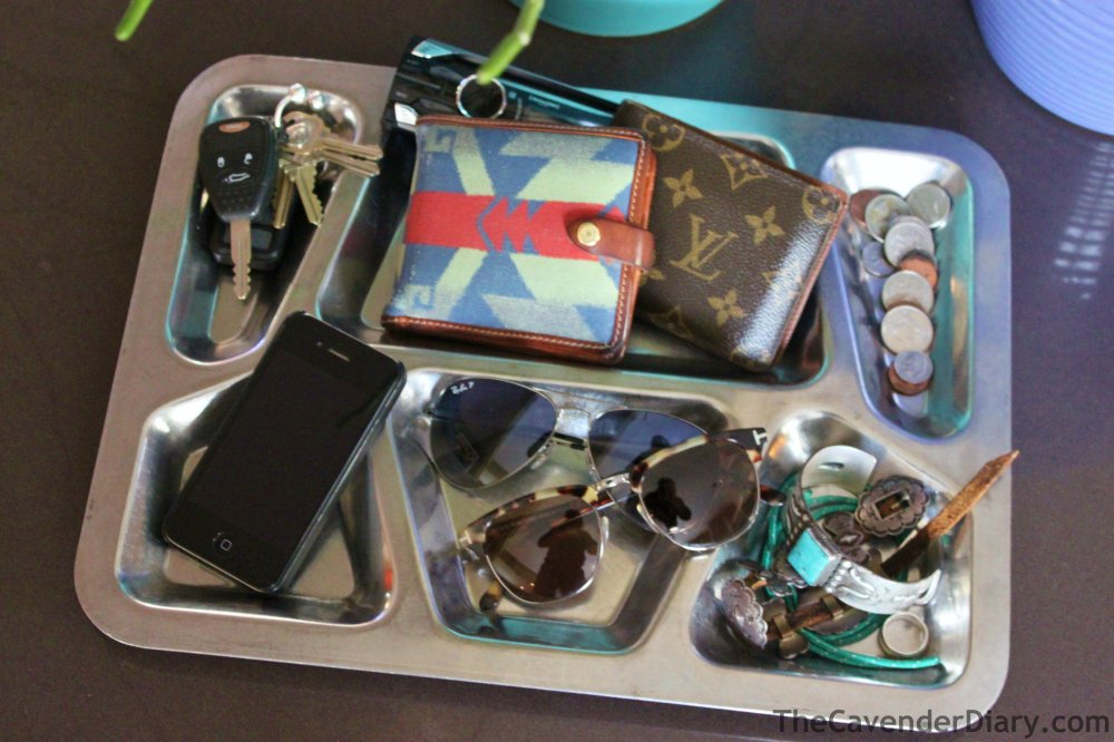Mess Hall Tray as Organizer