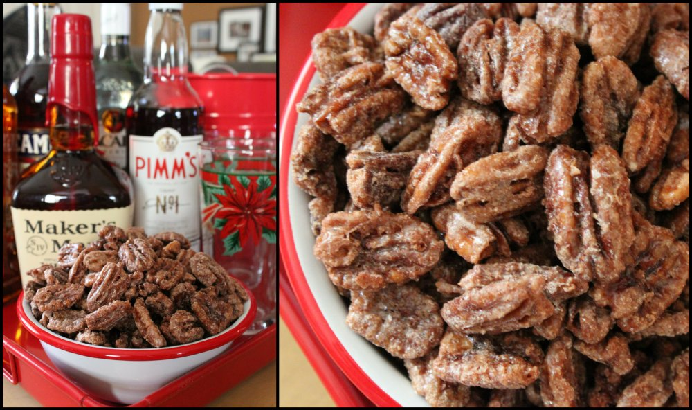 Sugas & Spice Pecans on the Cavender Holiday Bar Collage