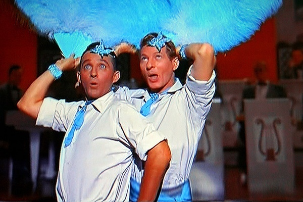 Bing and Kaye Doing the Sisters Number in White Christmas