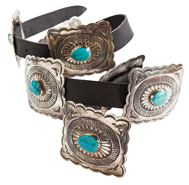 Open Range Concho Belt Designed by Jason Lenox