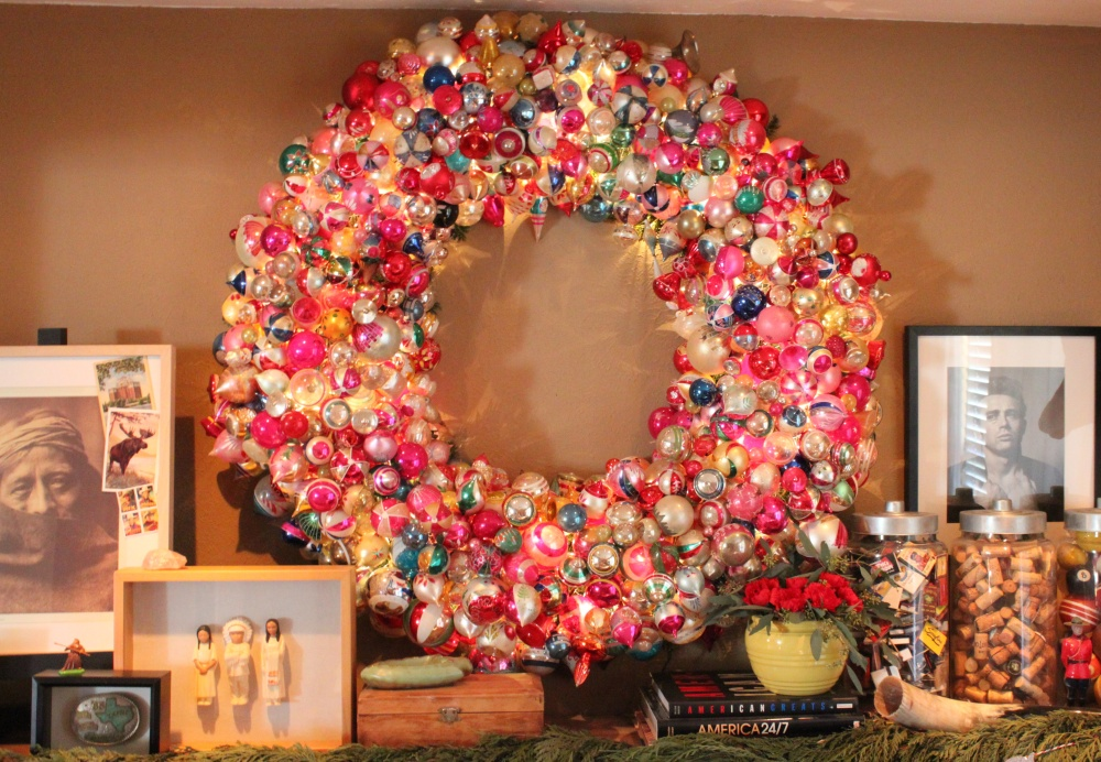 That Big Beautiful Oranament Wreath 2015