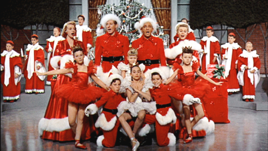 The Cast Of White Christmas.Bing Crosby White Christmas The Cavender Diary