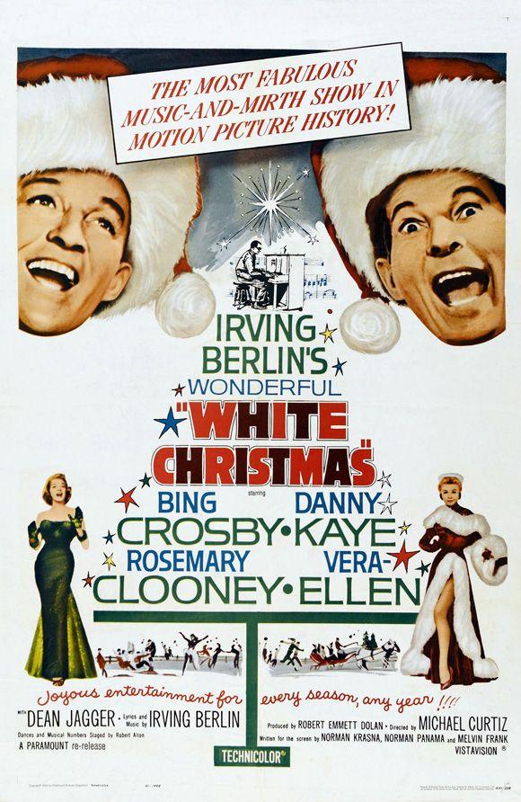 white christmas movie poster - White Christmas Bing Crosby Movie