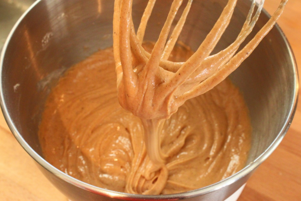 Beautiful Spice-Colored Batter