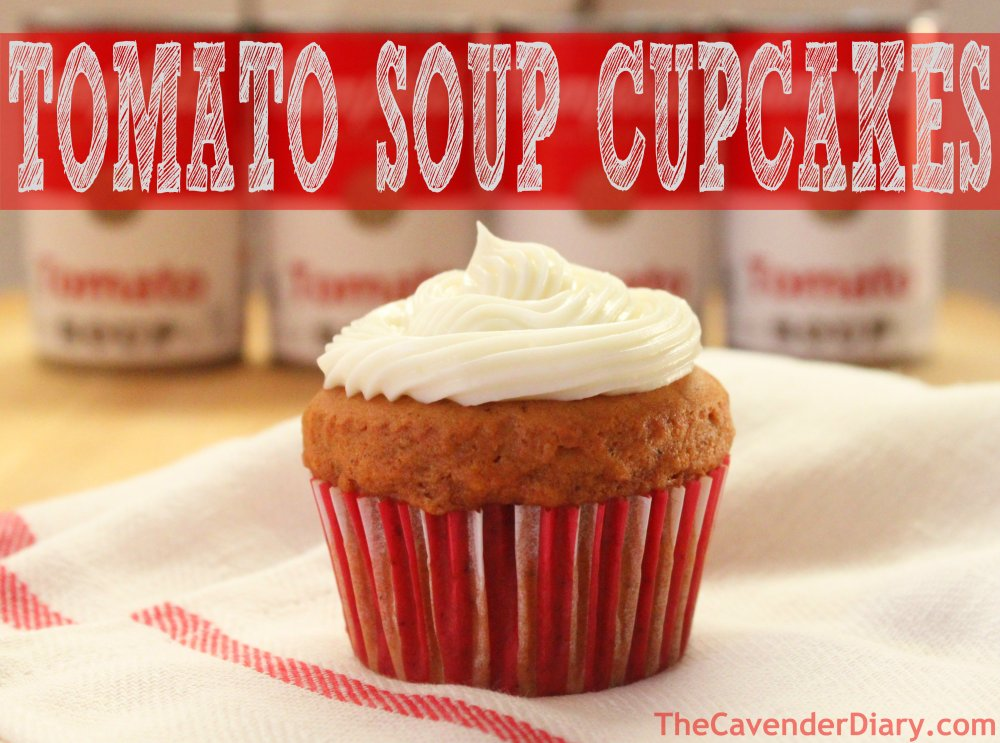Tomato Soup Cupcakes from the Cavender Diary Boys