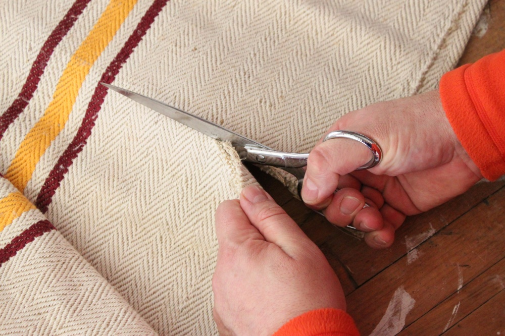 Use Sharp Scissors to Cut the Sack