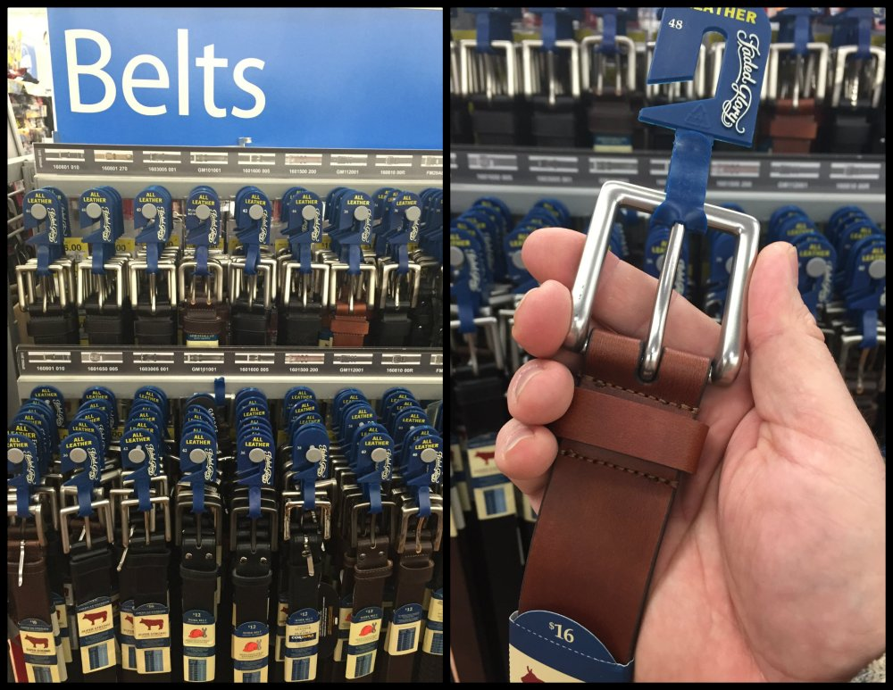 Wal-Mart Belt from my Grain Sack Bag Strap