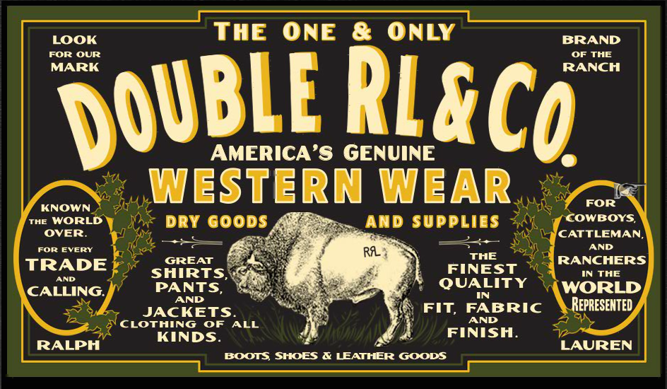 Double RL & Co Western Wear