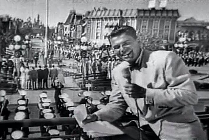 Govenor Ronald Reagan, Opening Day Disneyland
