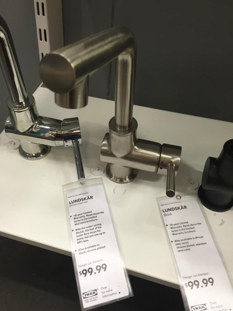 Lundskar Stainless Faucet from Ikea